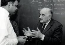 Мичиганский Университет  1985г.(М.А.Айзерман и Анн Арбор)