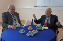 Ф.Т. Алескеров с Нобелевским лауреатом, профессором Станфордского Университета  Кеннетом .Эрроу