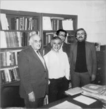 Мичиганский Университет 1985г. (сл.напр.:М.А.Айзерман,  С.М.Меерков, Ф.Т.Алескеров,  В.И.Вольский)